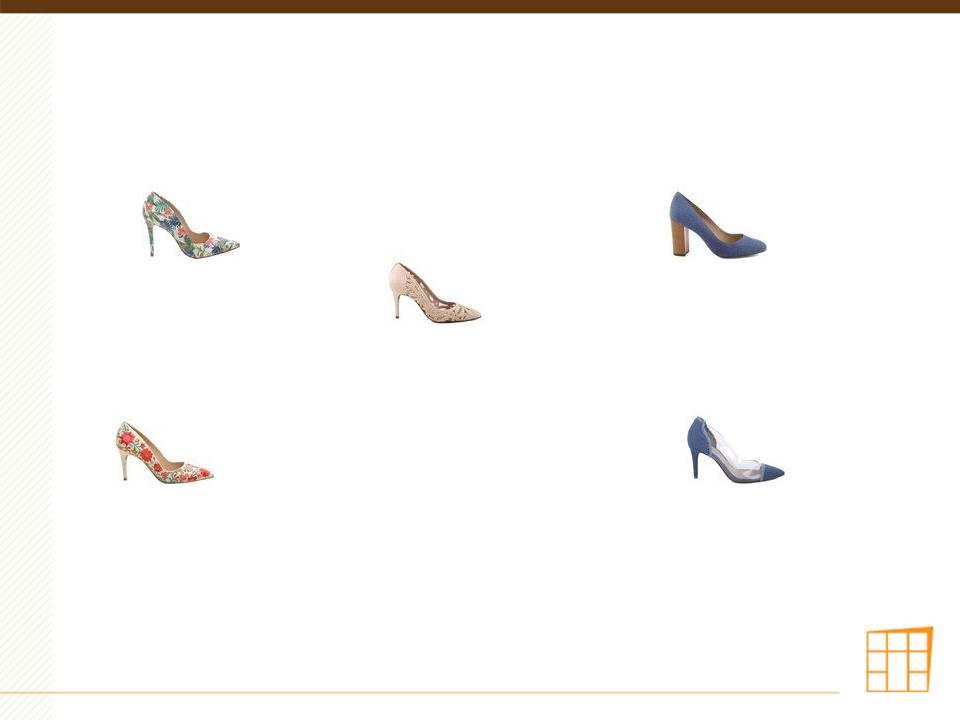 Sapatos que não devem entrar no ambiente de trabalho.3